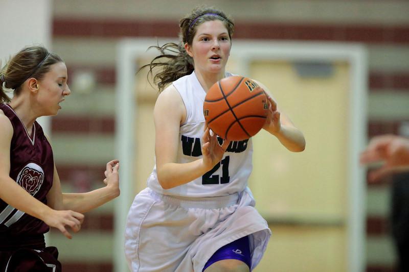 130131 Girls Basketball Edmonds-Woodway High School Warriors Junior Varsity versus Cascade High School Bruins Snapshots