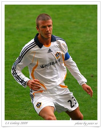 LA Galaxy 2008 Beckham