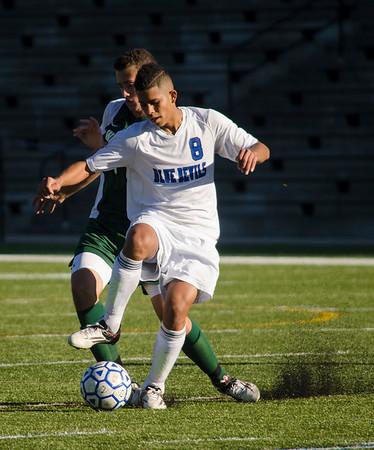 LHS boys soccer v. Wachusett 9-17-15