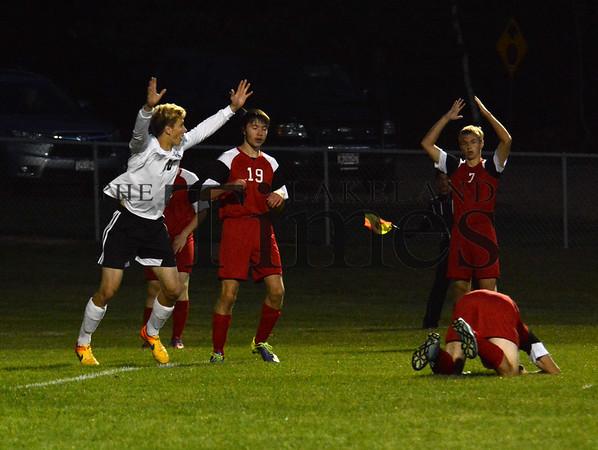 10-1-15 Lakeland Soccer vs. Medford