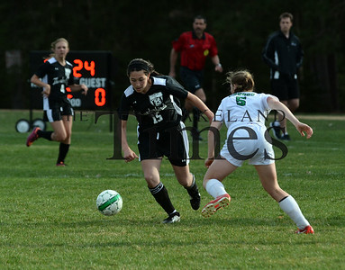 4-28-15 Lakeland Girls Soccer at Rhinelander
