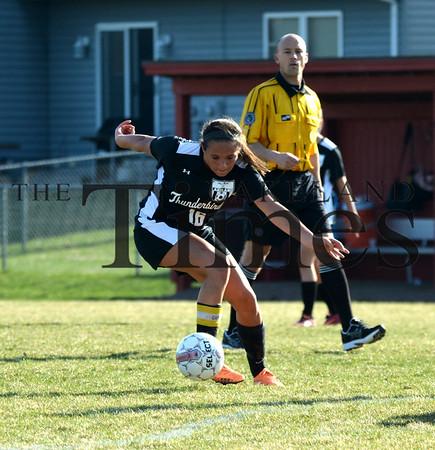 4/16/15 Lakeland Soccer at Wausau Newman