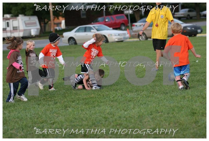 Lawson Youth Soccer Brown vs Orange 013