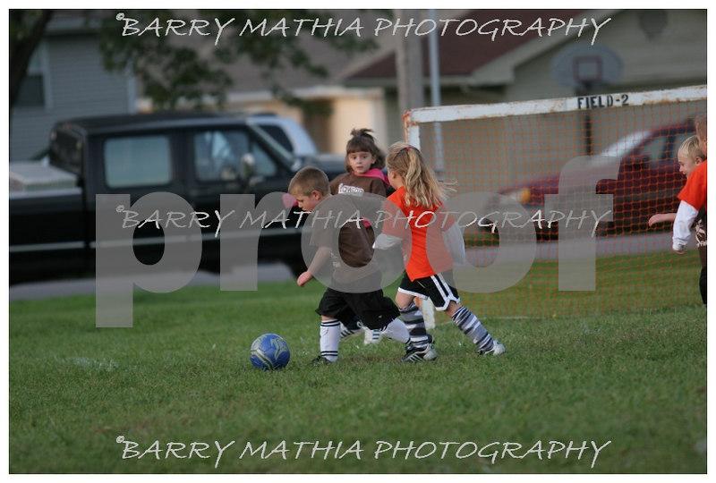 Lawson Youth Soccer Brown vs Orange 045