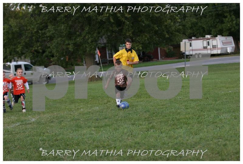 Lawson Youth Soccer Brown vs Orange 025