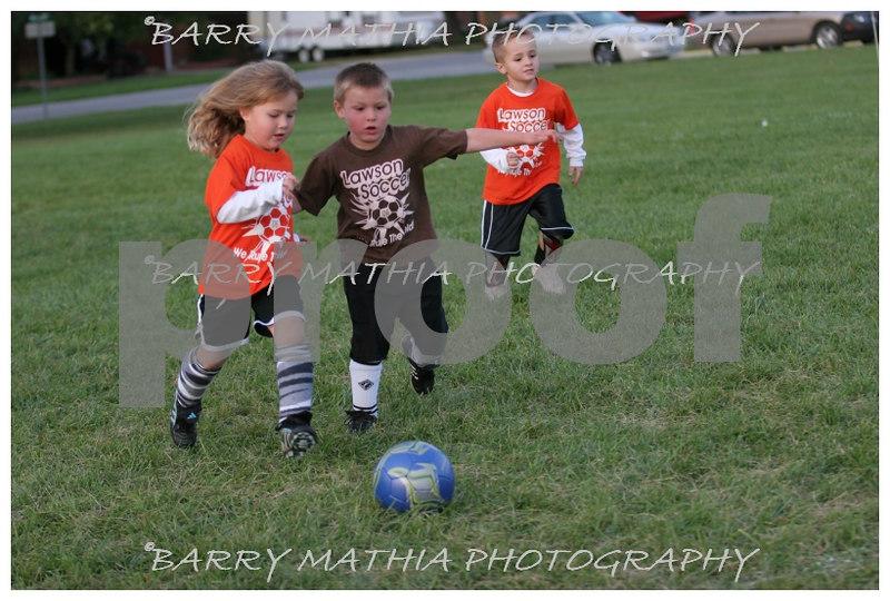 Lawson Youth Soccer Brown vs Orange 030