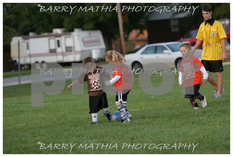 Lawson Youth Soccer Brown vs Orange 040