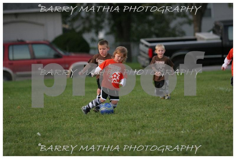 Lawson Youth Soccer Brown vs Orange 047