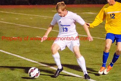 MHS Mens Soccer vs 7 Hills playoffs 2014-10-29-31