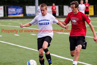 MHS Mens Soccer Scrimmage vs Milford 2015-08-05-145
