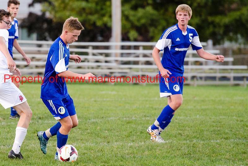 MHS Mens Soccer vs Deer Park 2015-9-22-15