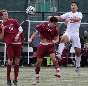 MIT-Springfield Men's Soccer Nov. 7, 2015
