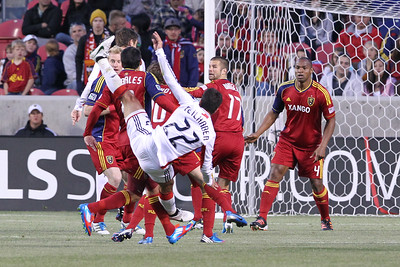 SOCCER: MAY 05 MLS - New England Revolution at Real Salt Lake