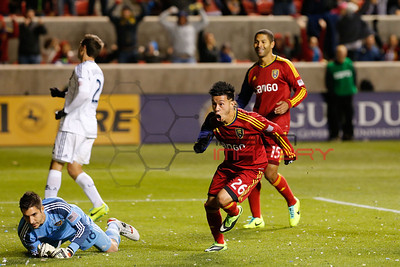 MLS: Playoffs-Los Angeles Galaxy at Real Salt Lake
