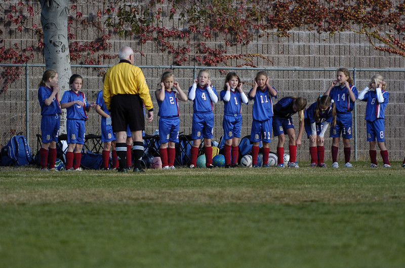 District Cup MP Strikers GU10 vs. Gryphons