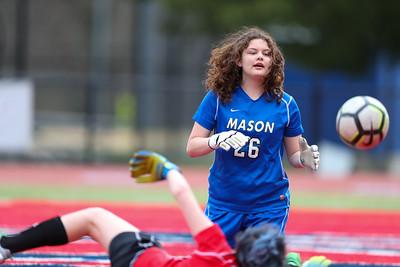 Mason @ Justice Girls JV Soccer (10 Mar 2020)