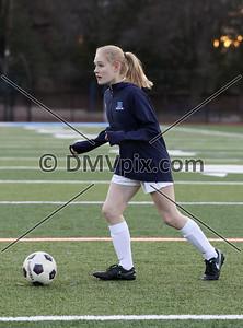 Mason @ Yorktown Girls JV Soccer (02 Mar 2017)