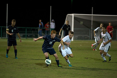 The University of North Florida Osprey's played against the Jacksonville University Dolphins in the River CIty Rumble soccer game.