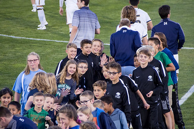 Echo Night at Notre Dame Soccer -  October 20 2017
