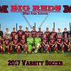 Milan Varsity Soccer 8x10 Team Photos 2017