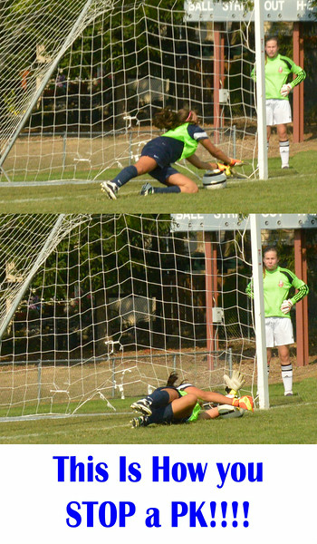 One of Erin K's PK stops during her Tim Howard-esque performance in the tie breaking PK Shootout, carrying Celtic Navy to victory and into the Bracket Final!