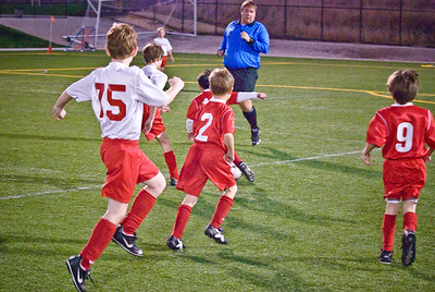Mustang Soccer 2008 Team Lightning Playoff -12