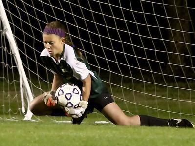 Nease Girls' Soccer vs Bartram Trail District Playoffs 1/14/15