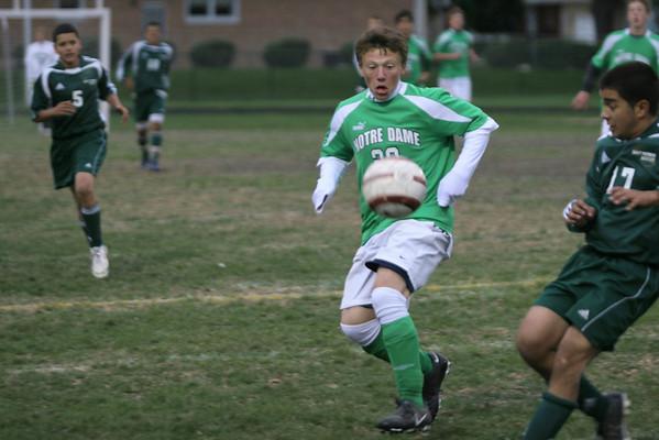 Notre Dame College Prep Soccer 2007