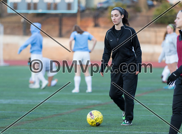 Oakton @ Yorktown Girls Varsity (24 Mar 2015)