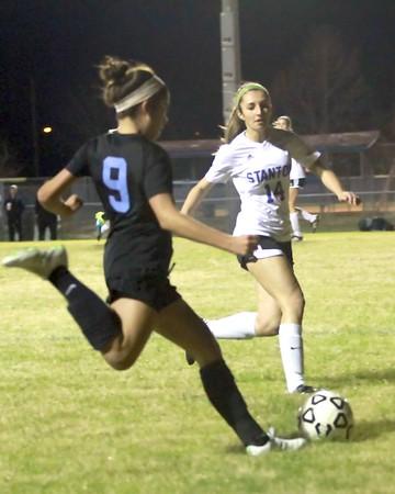 PVHS Girls' Soccer vs Stanton Regional Playoffs 1/28/16