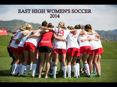 East High Women's SOccer  DVD 2014
