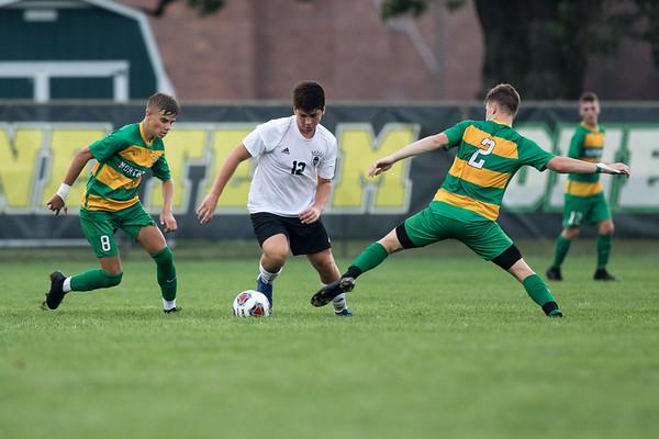Penn Boys Soccer Varsity vs Northridge - August 20th, 2019.