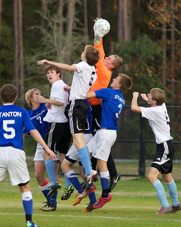 Ponte Vedra Boys' Soccer vs Stanton Regional Playoff 2-3-12
