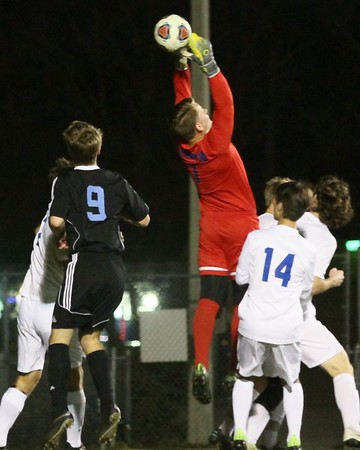 Ponte Vedra Boys' Soccer vs Stanton Playoffs 2017