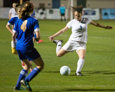Ponte Vedra Girls Soccer vs Menendez District playoffs 1-14-13