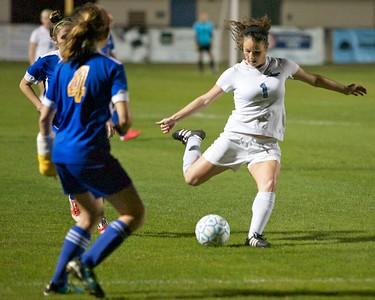 Ponte Vedra Girls Soccer vs Menendez District playoffs 1-14-13