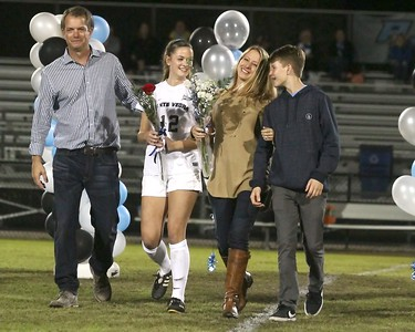 Ponte Vedra Girls Soccer Senior Night vs Bartram Trail 2017