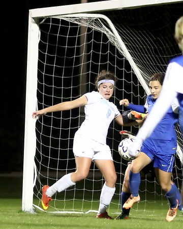 Ponte Vedra Girls' Soccer vs Clay District Playoffs 1/14/15