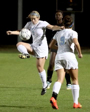 Ponte Vedra Girls' Soccer vs Nease 12/16/14