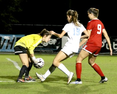 Ponte Vedra High School Girls' Soccer vs Creekside 2017