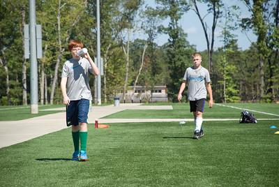 Preseason soccer training fall 2016