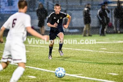 Boys Soccer - Varsity: Loudoun County vs Rock Ridge 5.3.2016