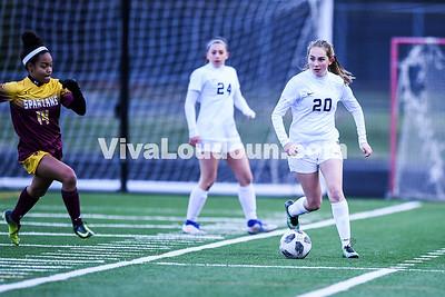 Girls Soccer: Broad Run vs Stone Bridge 4.19.2018
