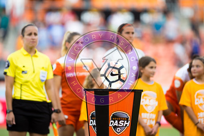 Houston Dash vs Orlando Pride in Houston, Texas  June 17, 2017 BBVA Compass Stadium