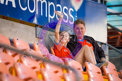 Andrew and Abbie Bridges Houston Dash vs Utah Royals  Friday March 30, 2018 at BBVA Compass Stadium