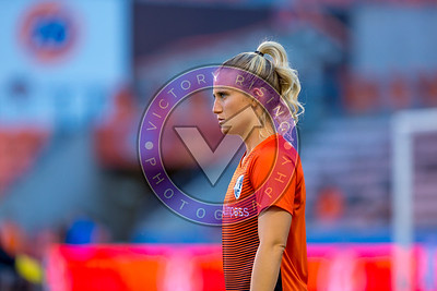Michaela Hahn #2 MF Houston Dash vs Utah Royals  Friday March 30, 2018 at BBVA Compass Stadium