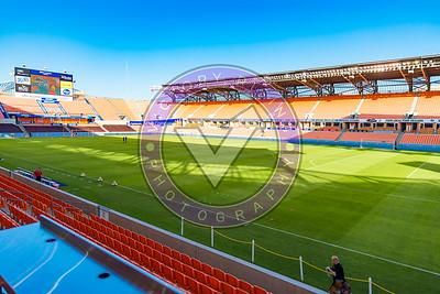 Houston Dash vs Utah Royals  Friday March 30, 2018 at BBVA Compass Stadium