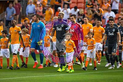 Houston Dynamo 1- 2 Vancouver Whitecaps March 10, 2018 at BBVA Compass Stadium 5pm kick off