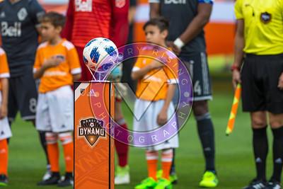 National Anthems  Houston Dynamo 1- 2 Vancouver Whitecaps March 10, 2018 at BBVA Compass Stadium 5pm kick off