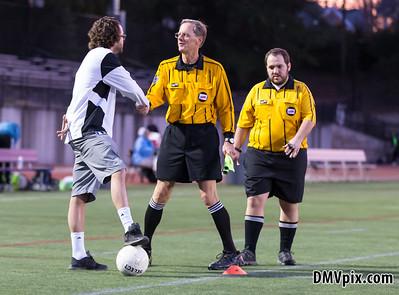 South Lakes @ Yorktown Boys Varsity Soccer (12 Mar 2015)